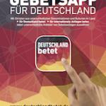 Deutschland betet - App Poster DIN A4